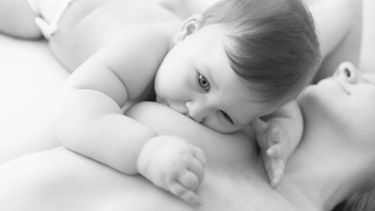 Best breastfeeding positions: Laid-back breastfeeding after a c-section