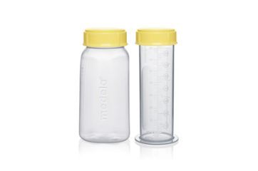 Medela flasker for flergangsbruk 150 ml og 80 ml til pumping